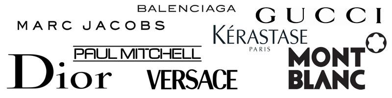 Logos von diversen Marken